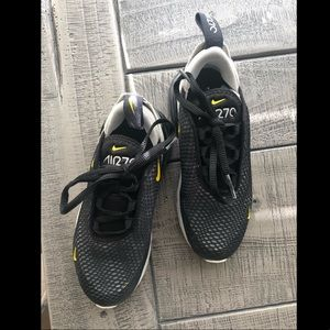 Nike Air Max 270 BLACK/Yellow
